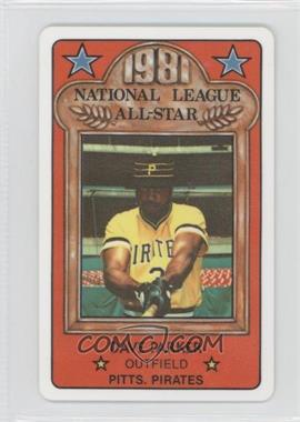 1981 Perma-Graphics/Topps Credit Cards - All-Stars #150-ASN8106 - Dave Parker