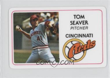 1981 Perma-Graphics/Topps Credit Cards - [Base] #125-011 - Tom Seaver