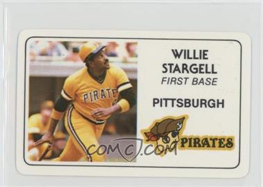 1981 Perma-Graphics/Topps Credit Cards - [Base] #125-014 - Willie Stargell