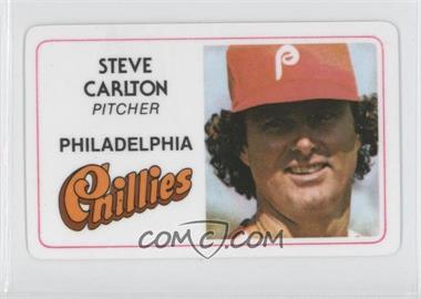 1981 Perma-Graphics/Topps Credit Cards - [Base] #125-016 - Steve Carlton