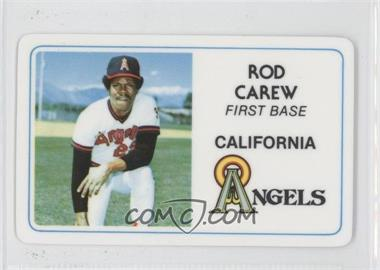 1981 Perma-Graphics/Topps Credit Cards - [Base] #125-022 - Rod Carew