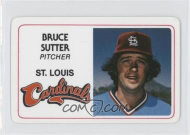 1981 Perma-Graphics/Topps Credit Cards - [Base] #125-024 - Bruce Sutter