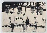 Lou Gehrig, Joe Cronin, Bill Dickey, Joe DiMaggio