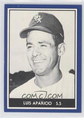 1981 TCMA 1959 Go-Go Chicago White Sox - [Base] #1981-3.1 - Luis Aparicio (Blue Border, Black & White Photo)