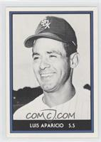 Luis Aparicio (White Border, Black & White Photo)