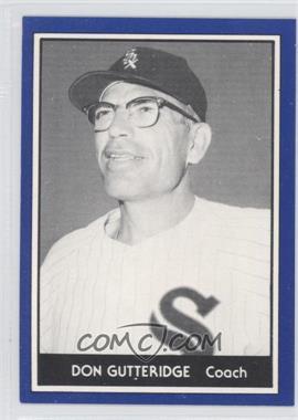 1981 TCMA 1959 Go-Go Chicago White Sox - [Base] #1981-42 - Don Gutteridge