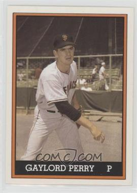 1981 TCMA 1962 San Francisco Giants National League Champions - [Base] - Color #1981-021 - Gaylord Perry