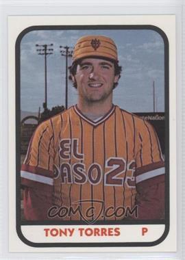 1981 TCMA Minor League - [Base] #917 - Tony Torres