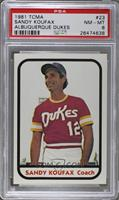 Sandy Koufax [PSA 8 NM‑MT]