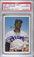 Billy Williams [PSA AUTHENTIC]