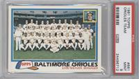 Baltimore Orioles Team [PSA 9]