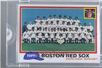 Team Checklist - Boston Red Sox /1 [ENCASED]