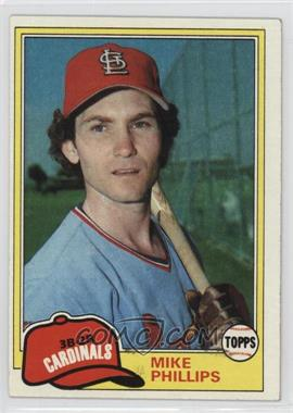 1981 Topps - [Base] #113 - Mike Phillips