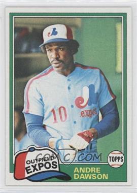 1981 Topps - [Base] #125 - Andre Dawson