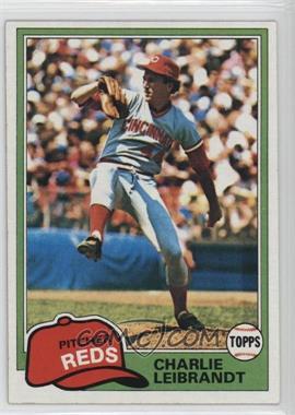 1981 Topps - [Base] #126 - Charlie Leibrandt