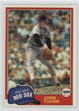 1981 Topps - [Base] #14 - John Tudor
