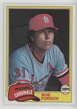 1981 Topps - [Base] #140 - Bob Forsch