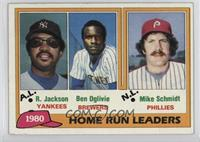 Home Run Leaders (Reggie Jackson, Ben Oglivie, Mike Schmidt) [Good to&nbsp…