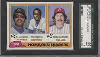 Home Run Leaders (Reggie Jackson, Ben Oglivie, Mike Schmidt) [SGC 96]