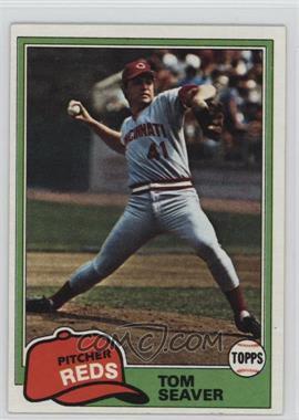 1981 Topps - [Base] #220 - Tom Seaver