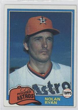 1981 Topps - [Base] #240 - Nolan Ryan