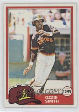 1981 Topps - [Base] #254 - Ozzie Smith