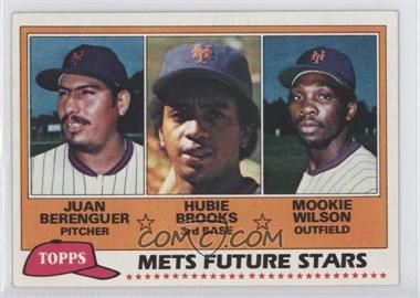 1981 Topps - [Base] #259 - Juan Berenguer, Hubie Brooks, Mookie Wilson