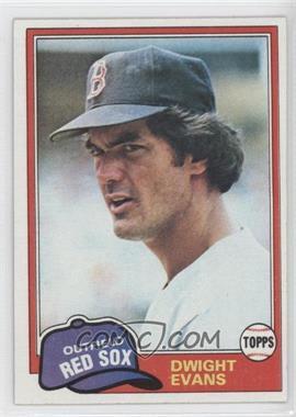 1981 Topps - [Base] #275 - Dwight Evans