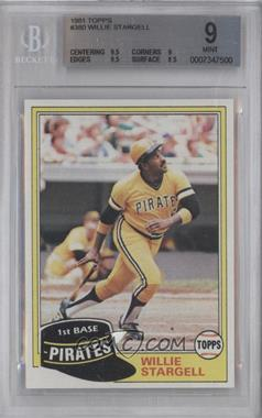 1981 Topps - [Base] #380 - Willie Stargell [BGS 9]