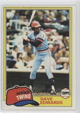 1981 Topps - [Base] #386 - Dave Edwards