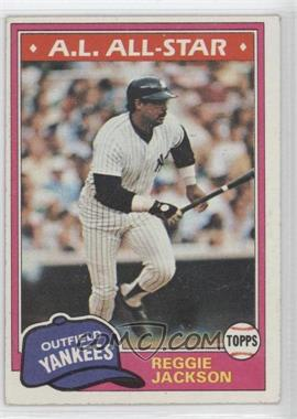 1981 Topps - [Base] #400 - Reggie Jackson