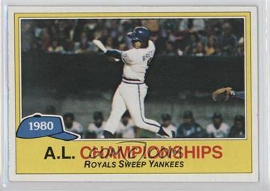 1981 Topps - [Base] #401 - George Brett