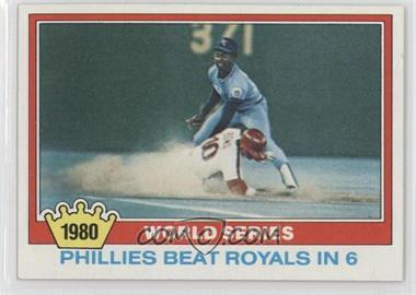 1981 Topps - [Base] #403 - 1980 World Series
