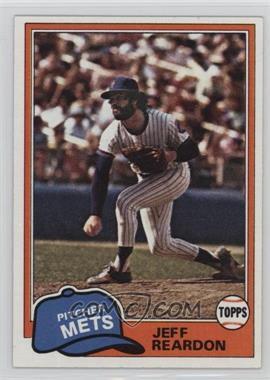 1981 Topps - [Base] #456 - Jeff Reardon
