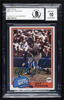 Jeff Reardon [BAS Certified BGS Encased]