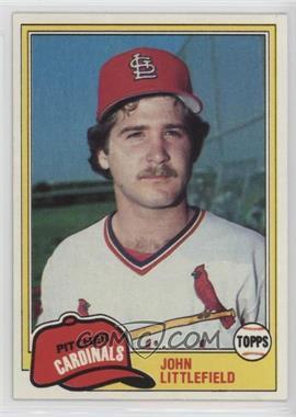 1981 Topps - [Base] #489 - John Littlefield