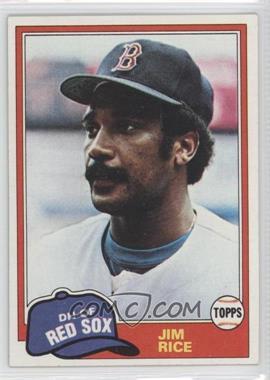 1981 Topps - [Base] #500 - Jim Rice
