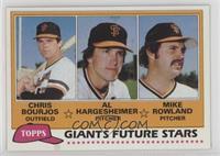 Giants Future Stars (Chris Bourjos, Al Hargesheimer, Mike Rowland)