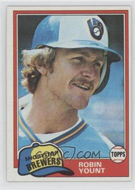 1981 Topps - [Base] #515 - Robin Yount