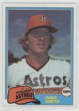 1981 Topps - [Base] #534 - Dave Smith
