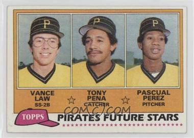 1981 Topps - [Base] #551 - Vance Law, Tony Pena, Pascual Perez