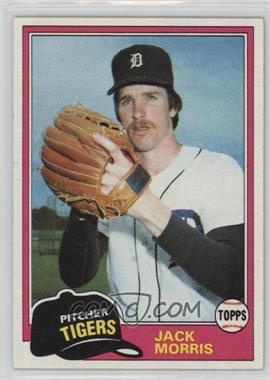 1981 Topps - [Base] #572 - Jack Morris
