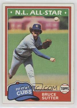 1981 Topps - [Base] #590 - Bruce Sutter