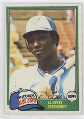 1981 Topps - [Base] #643 - Lloyd Moseby