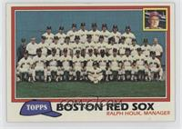 Team Checklist - Boston Red Sox