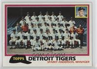 Team Checklist - Detroit Tigers