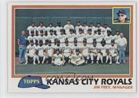 Team Checklist - Kansas City Royals