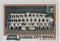 Team Checklist - Kansas City Royals