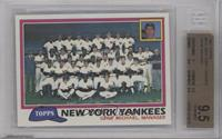 Team Checklist - New York Yankees [BGS 9.5]