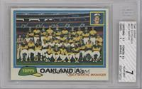 Team Checklist - Oakland A's [BGS 7]